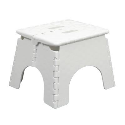B Amp R Plastics Ez Foldz Stool White 101 6 Rv Plus