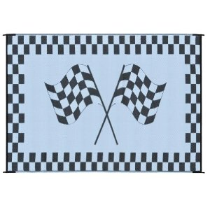 Ming S Mark Inc Awning Mat 6 X 9 Racing Flag Rf 6091