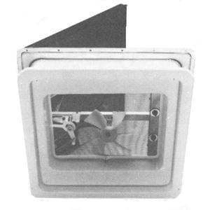 Heng S Roof Vent Power Lift W Light 12v White V071142
