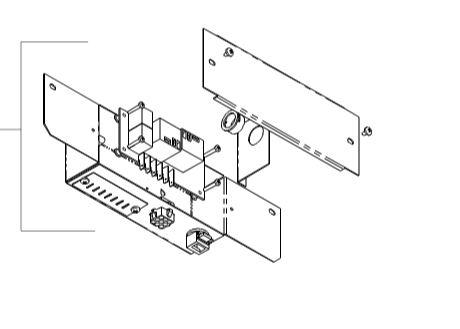 Coleman J Box Assembly P 8530 5091