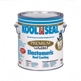 Kool Seal Elastomeric Roof Coating White 1 Gal 63 600 1