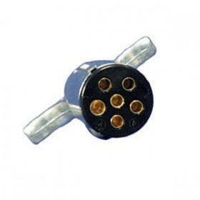 draw tite trailer connector 6 way connector plug 118037. Black Bedroom Furniture Sets. Home Design Ideas